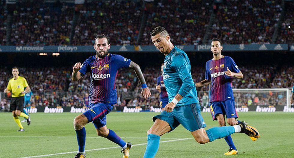 Barcelona vs Real Madrid | Supercopa de España 2017 - Final | Resultado: 1-3 (Ida) y 0-2 (Vuelta). (Getty)