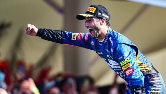 Daniel Ricciardo salió victorioso de un Gran Premio de Italia que será muy recordado en la historia de la Fórmula 1. (Foto: EFE)
