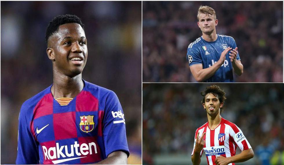 Golden Boy 2021: Ansu Fati, Joao Félix, Vinícius Junior y 17 candidatos más al premio mejor Sub 21 del año | FOTOS