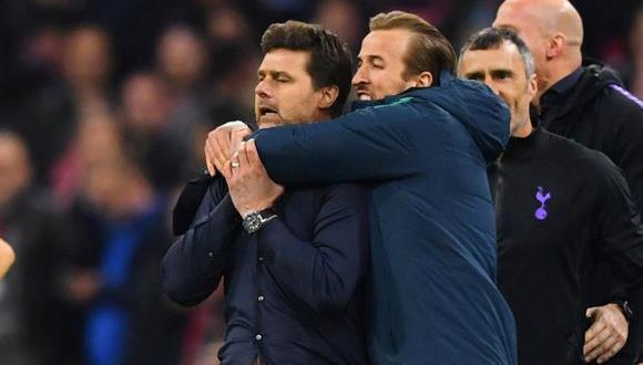 Pochettino y Kane llevaron a los 'Spurs' a la final de la Champions League 2019. (Foto: Reuters)