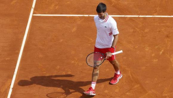 Novak Djokovic fue eliminado del Masters 1000 de Montecarlo. (Reuters)