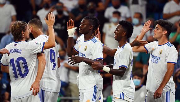 Real Madrid remontó y venció 5-2 al Celta en su vuelta al Bernabéu. (Foto: CFRM)