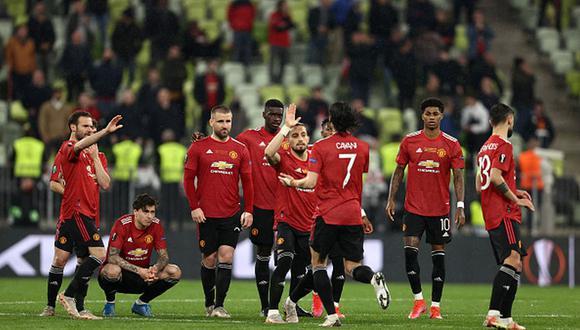 Manchester United no gana un título desde el 2017.  (Getty)