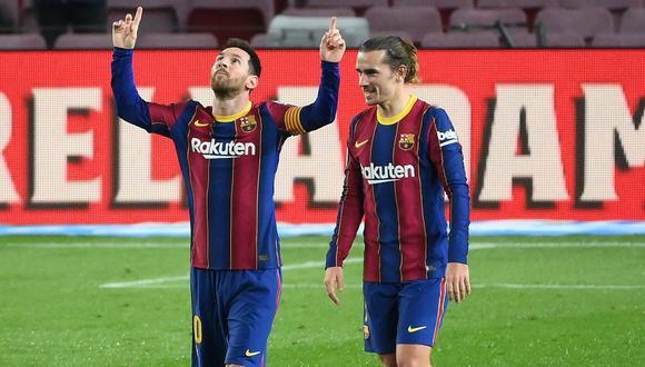 Barcelona golea a Alavés y sube a la segunda posición de LaLiga, Messi lució con un par de golazos.