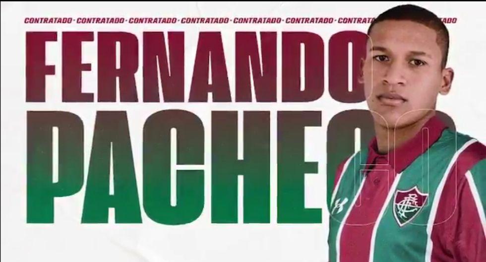 Fernando Pacheco (Extremo) - Fluminense de Brasil
