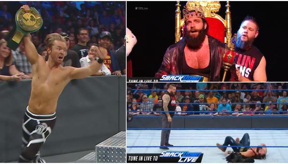 Drake Maverick volvió a ser campeón 24/7 tras paliza que recibió Elias por parte de Kevin Owens en SmackDown. (WWE)
