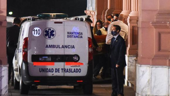 Los restos de Diego Maradona son velados en la Casa Rosada. (REUTERS).