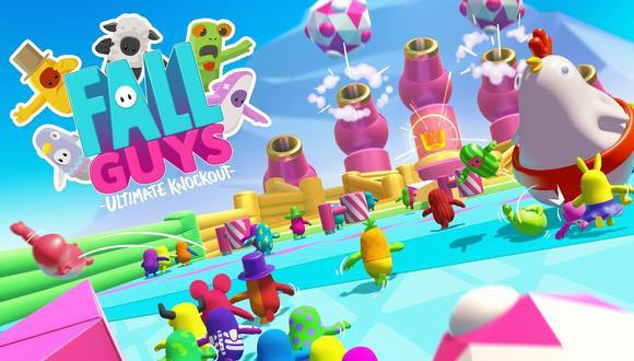 Fall Guys: Ultimate Knockout, uno de los videojuegos más populares de este 2020 (Foto: Mediatonic)