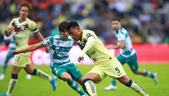 América vs. Santos EN VIVO vía TUDN juegan en el Azteca por el Apertura 2019 Liga MX. (Getty)