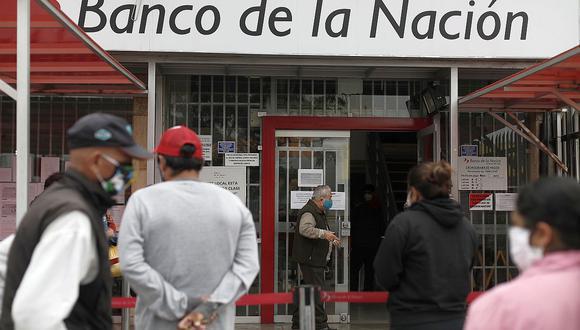 Pago a través de la banca celular del Banco de la Nación inicia desde este lunes 22 de marzo. (Foto: GEC)