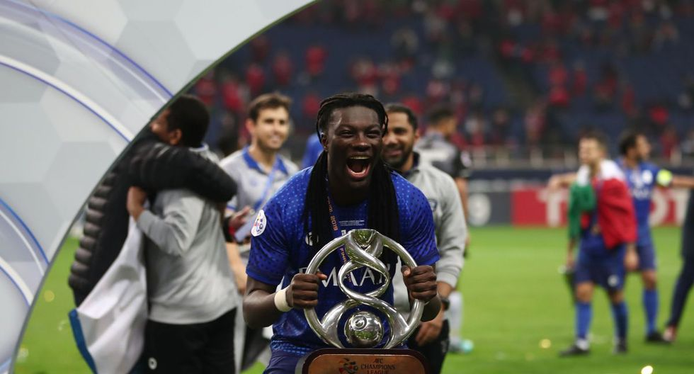 Bafétimbi Gomis | Al-Hilal FC. (Foto: Agencias)