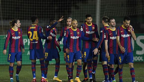 Barcelona marcha en el tercer lugar de LaLiga Santander. (Getty)