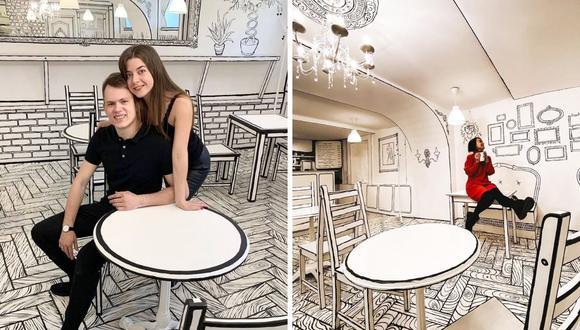 La cafetería BW Kafe es una de las más exitosas de la ciudad de San Petersburgo, Rusia. (Foto: Чбкафе | @cafe2d | Facebook)