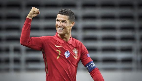 Cristiano Ronaldo ganó una Eurocopa con Portugal, en Francia 2016. (AFP)