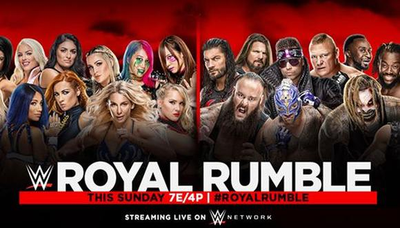 Anuncio oficial del Royal Rumble 2020. (Foto: WWE)