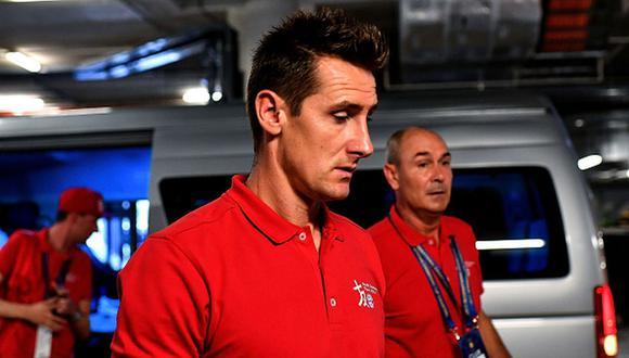 Miroslav Klose formaba parte del comando técnico del Bayern Munich. (Foto: Getty)