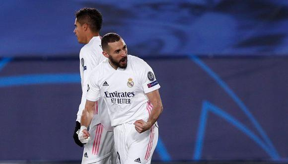 Real Madrid vs. Borussia Monchegladbach en el Alfredo Di Stéfano por la Champions League. (Foto: Twitter)