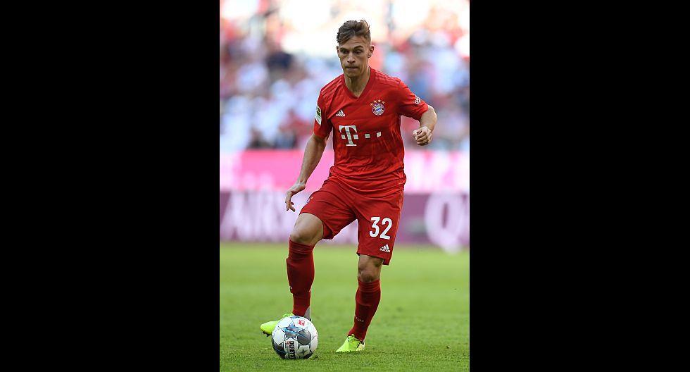 Joshua Kimmich (Bayern Múnich), en 69.1 millones de dólares. (Foto: AFP)