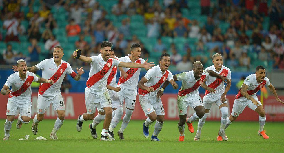 La bicolor eliminaba a un candidato al título y se venía el bicampeón de América, Chile. (Foto: AFP)