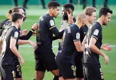 Paso firme: Barcelona derrotó 2-0 a Elche con goles de De Jong y Puig