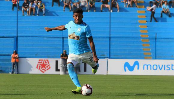 Cristian Carbajal debutó en 2019 con la camiseta de Sporting Cristal. (Foto: Agencias)