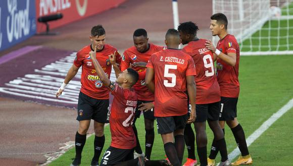 César Vallejo cayó 2-0 frente a Caracas FC, por la Fase 1 de la Copa Libertadores 2021. (Foto: @Libertadores)