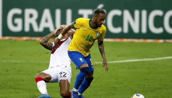 Neymar le anotó cinco goles oficiales a Perú. (Foto: Daniel Apuy / GEC)