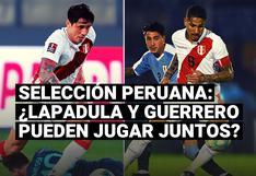¿Gianluca Lapadula y Guerrero pueden jugar juntos en la Selección?