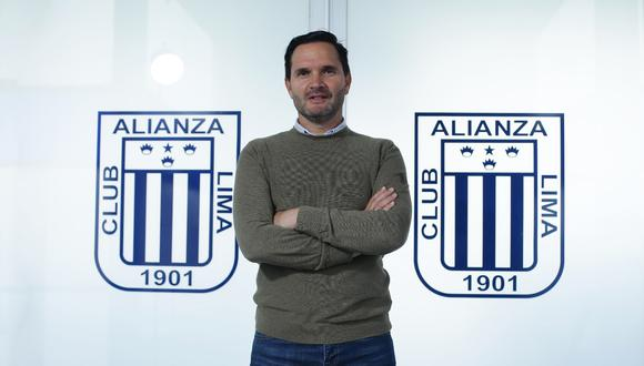 Víctor Hugo Marulanda es el director deportivo de Alianza Lima (Foto: Jesús Saucedo/GEC)