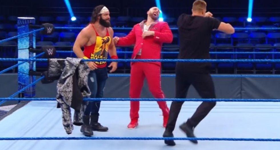 Rob Gronkowski añadió una pelea a WrestleMania 36: Elias enfrentará el 'Rey' Baron Corbin. (Foto: WWE)