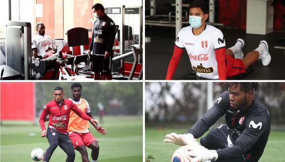 Selección Peruana completó su segundo día de entrenamientos, de cara a los partidos por las Eliminatorias. (Foto: @SeleccionPeru)
