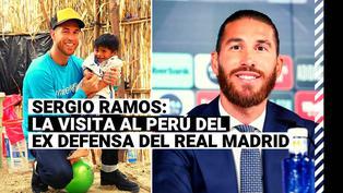 Sergio Ramos: recuerda la última visita al Perú del ex defensa del Real Madrid