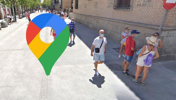 Curiosa imagen sobre la presencia del coronavirus en Google Maps se vuelve viral. (Foto: Google)