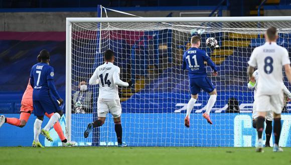 Real Madrid vs Chelsea en Stamford Bridge por la Champions League. (Foto: AFP)