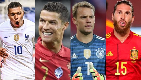 En Europa arranca el fútbol de selecciones por un cupo directo al Mundial de Qatar 2022.