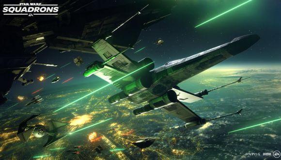 Star Wars: Squadrons llegará el próximo 2 de octubre a PS4, Xbox One y PC.
