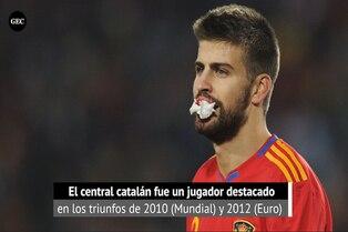 España: Vicente del Bosque destaca el profesionalismo de Piqué con su selección