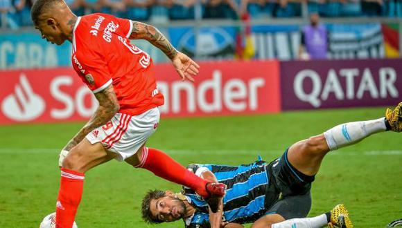 Paolo Guerrero liderará el ataque de Internacional en el clásico ante Gremio. (Foto: SC Internacional)