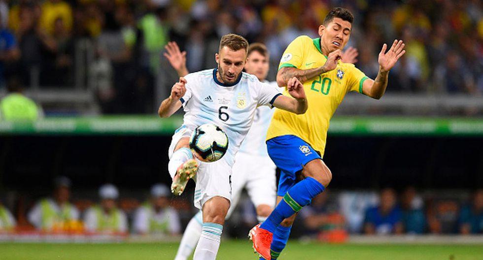 Pezzella jugó la última Copa América en Brasil. (Getty)