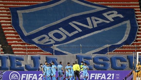 Bolivar se estrenó con triunfo ante Arsenal por Copa Libertadores 2021. (Foto: Agencias)