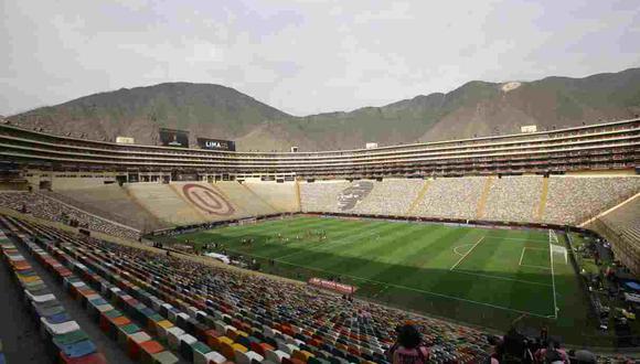 El estadio Monumental cumple 20 años. (Foto: Jesœs Saucedo / Grupo El Comercio)
