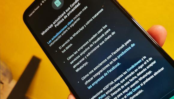 ¿Aceptaste las nuevas políticas de WhatsApp? Esto es lo que debes saber. (Foto: Depor)