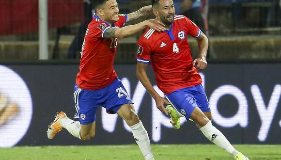 Chile venció 2-0 a Paraguay, por la fecha 5 de las Eliminatorias. (Foto: AFP)
