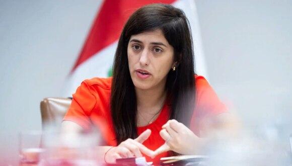"Sobre retiro de ONP: ministra Alva aseguró que no es posible ""devolver plata que no existe"". (Foto: Miguel Yovera/Bloomberg)"
