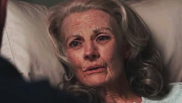 Peggy Carter conversa con Capitán América (Marvel)