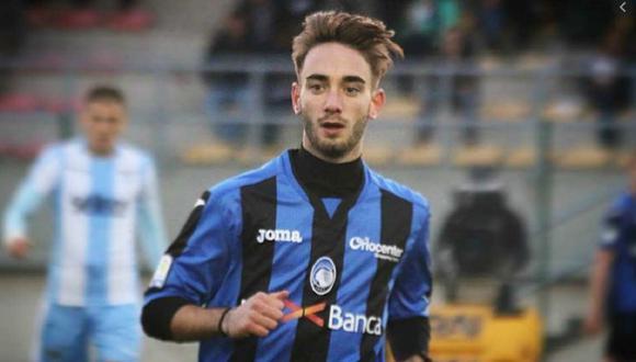 Andrea Rinaldi pertenecía a las filas del Atalanta de la Serie A, y jugaba cedido en el Legnano de Cuarta División. (Foto: Twitter)