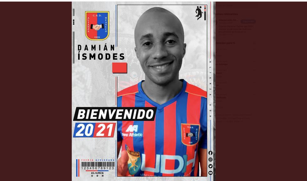 Damián Ísmodes fue anunciado como nuevo refuerzo de Alianza Universidad. (Foto: Alianza UDH)