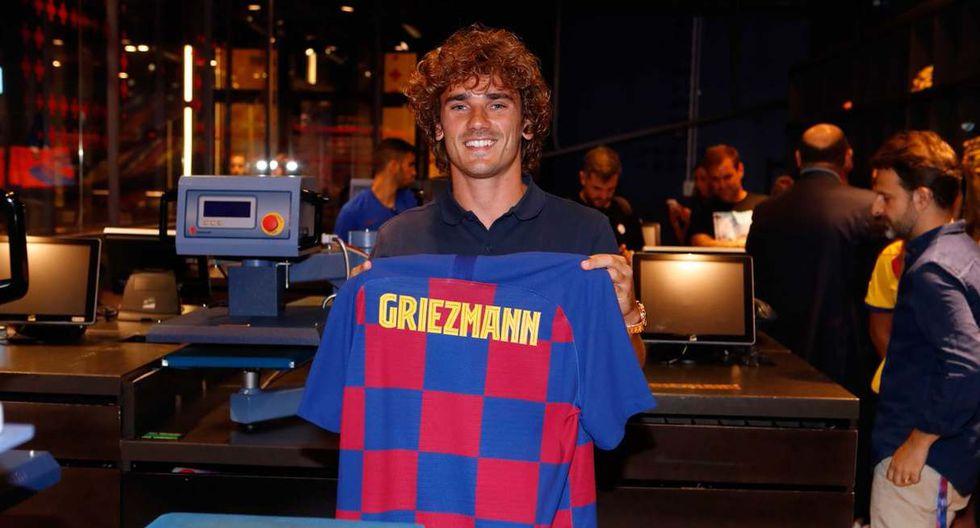 Antoine Griezmann será presentado como nuevo jugador del Barcelona. (Foto: @FCBarcelona_es)