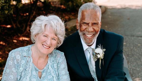 Jim Adams y Audrey Coutts. (Foto: Julie Rand Photography)