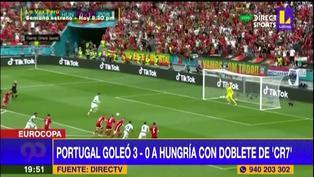 Con doblete de Cristiano Ronaldo: Resumen y goles de la Euro 2021